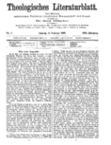 Theologisches Literaturblatt, 12. Februar 1909, Nr 7.