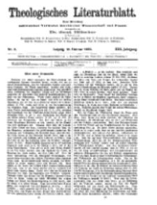 Theologisches Literaturblatt, 19. Februar 1909, Nr 8.