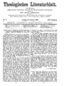 Theologisches Literaturblatt, 26. Februar 1909, Nr 9.