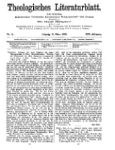 Theologisches Literaturblatt, 12. März 1909, Nr 11.