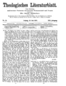 Theologisches Literaturblatt, 28. Mai 1909, Nr 22.