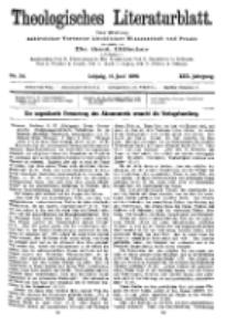 Theologisches Literaturblatt, 11. Juni 1909, Nr 24.