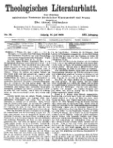 Theologisches Literaturblatt, 16. Juli 1909, Nr 29.