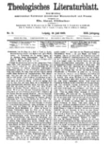 Theologisches Literaturblatt, 30. Juli 1909, Nr 31.