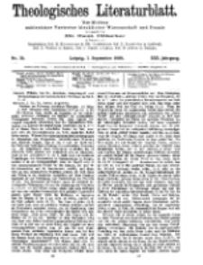 Theologisches Literaturblatt, 3. September 1909, Nr 36.