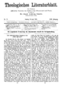 Theologisches Literaturblatt, 10. Juni 1910, Nr 12.