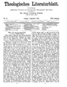 Theologisches Literaturblatt, 2. September 1910, Nr 18.
