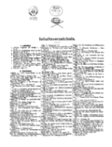 Theologisches Literaturblatt, 1911 (Inhaltsverzeichniß)