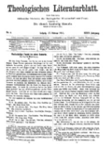 Theologisches Literaturblatt, 17. Februar 1911, Nr 4.