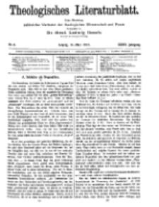 Theologisches Literaturblatt, 14. März 1913, Nr 6.