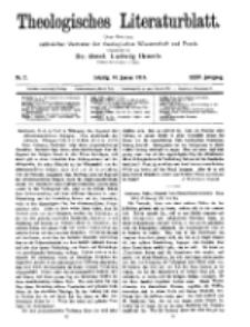 Theologisches Literaturblatt, 16. Januar 1914, Nr 2.