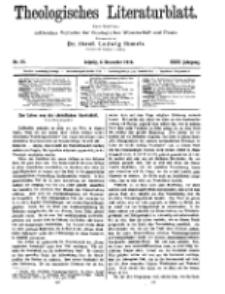 Theologisches Literaturblatt, 4. Dezember 1914, Nr 25.