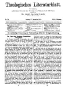 Theologisches Literaturblatt, 17. Dezember 1915, Nr 26.