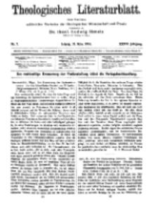 Theologisches Literaturblatt, 31. März 1916, Nr 7.