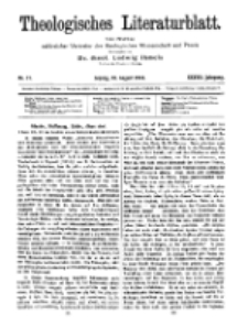 Theologisches Literaturblatt, 18. August 1916, Nr 17.