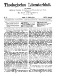 Theologisches Literaturblatt, 13. Oktober 1916, Nr 21.