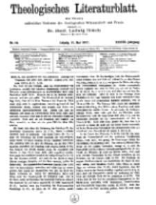 Theologisches Literaturblatt, 11. Mai 1917, Nr 10.