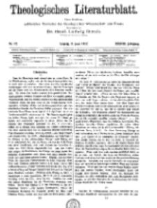 Theologisches Literaturblatt, 8. Juni 1917, Nr 12.