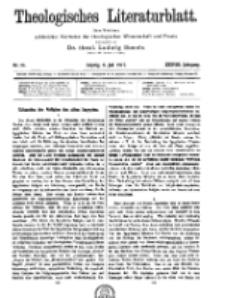 Theologisches Literaturblatt, 6. Juli 1917, Nr 14.