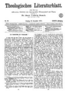 Theologisches Literaturblatt, 23. November 1917, Nr 24.