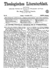 Theologisches Literaturblatt, 7. Dezember 1917, Nr 25.