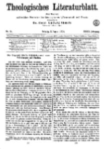 Theologisches Literaturblatt, 2. August 1918, Nr 16.