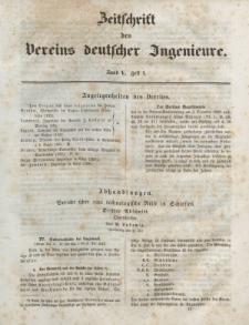 Zeitschrift des Vereins deutscher Ingenieure, Bd. V, 1861, H. 4.