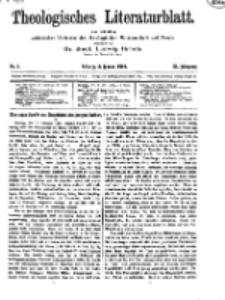 Theologisches Literaturblatt, 3. Januar 1919, Nr 1.