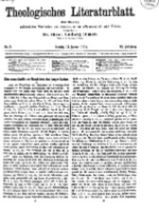 Theologisches Literaturblatt, 17. Januar 1919, Nr 2.