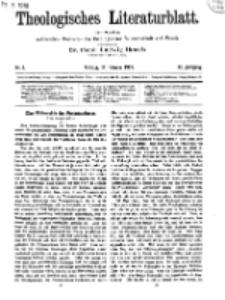 Theologisches Literaturblatt, 14. Februar 1919, Nr 4.
