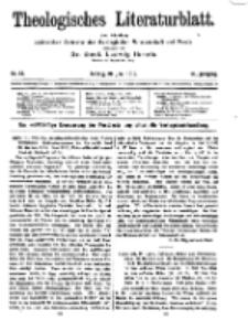 Theologisches Literaturblatt, 20. Juni 1919, Nr 13.