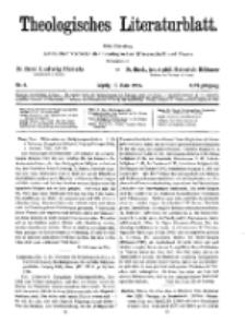 Theologisches Literaturblatt, 13. März 1925, Nr 6.