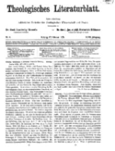 Theologisches Literaturblatt, 12. Februar 1926, Nr 4.