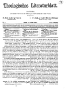 Theologisches Literaturblatt, 26. Februar 1926, Nr 5.