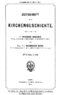 Zeitschrift für Kirchengeschichte, 1896, Bd. 17, H. 3.