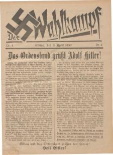 Der Wahlkampf Nr. 4, 5. April 1932