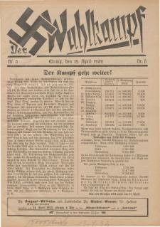 Der Wahlkampf Nr. 5, 12. April 1932
