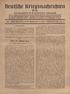 Deutsche Kriegsnachrichten (D.K.), Montag, 15. Januar 1917, Nr 30.