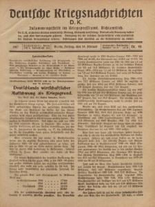 Deutsche Kriegsnachrichten (D.K.), Freitag, 16. Februar 1917, Nr 44.