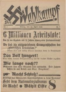 Der Wahlkampf Nr. 7, 22. April 1932