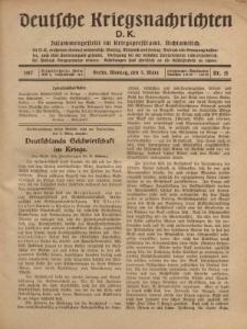 Deutsche Kriegsnachrichten (D.K.), Montag, 5. März 1917, Nr 51.