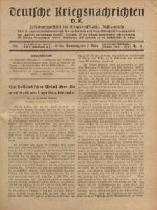 Deutsche Kriegsnachrichten (D.K.), Mittwoch, 7. März 1917, Nr 52.