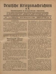 Deutsche Kriegsnachrichten (D.K.), Montag, 12. März 1917, Nr 54.