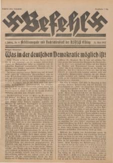 Befehl Nr. 9, 21. Mai 1932