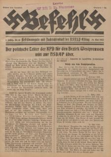 Befehl Nr. 10, 28. Mai 1932