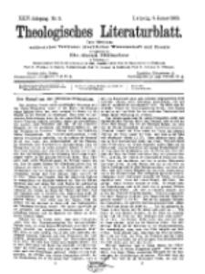 Theologisches Literaturblatt, 9. Januar 1903, Nr 2.