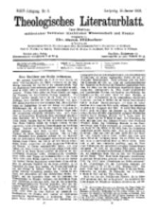 Theologisches Literaturblatt, 16. Januar 1903, Nr 3.