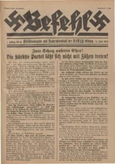 Befehl Nr. 11, 4. Juni 1932