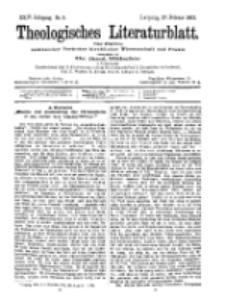 Theologisches Literaturblatt, 27. Februar 1903, Nr 9.