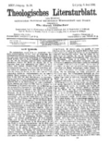 Theologisches Literaturblatt, 5. Juni 1903, Nr 23.